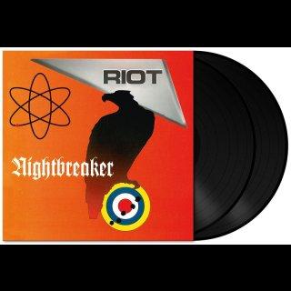 RIOT- Nightbreaker LIM. 2LP SET BLACK VINYL +3 Bonustr.