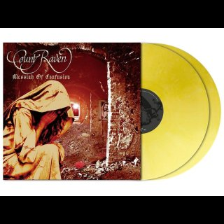 COUNT RAVEN- Messiah Of Confussion LIM. 200 PASTEL APRICOT MARBLED 2LP SET