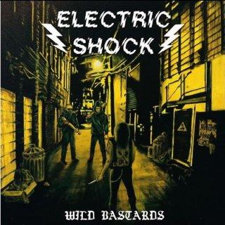 "ELECTRIC SHOCK- Wild Bastards LIM. 7"" 4-Track EP"