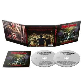 NIGHT DEMON- Live Darknes 2CD SET LIM. DIGIPACK