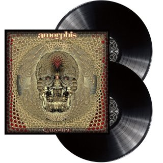 AMORPHIS- Queen Of Time LIM. BLACK VINYL 2LP SET