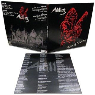 ARTILLERY- Fear Of Tomorrow LIM. 2LP SET +Demo Bonustracks