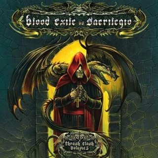 THRASH CLASH Vol.3 Blood Exile vs Sacrilegio SPLIT CD us import
