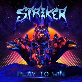 STRIKER- Play To Win LIM. BLACK VINYL