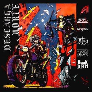 V.A., DESCARGA NORTE lim. CD spain metal sampler