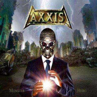 AXXIS- Monster Hero LIM. BLACK VINYL