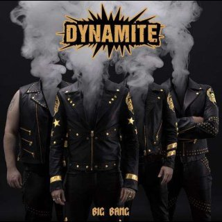 DYNAMITE- Big Bang LIM. BLACK VINYL private