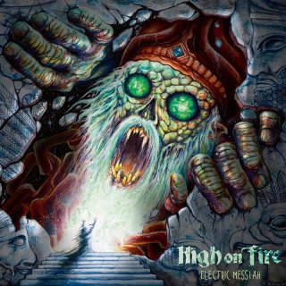 HIGH ON FIRE- Electric Messiah LIM. DIGIPACK