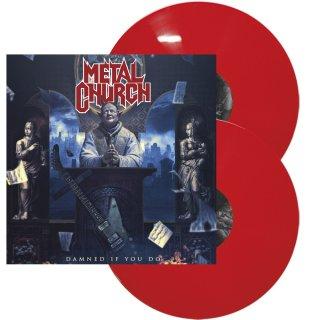 METAL CHURCH- Damned If You Do LIM.500 RED VINYL 2LP set