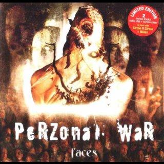 PERZONAL WAR- Faces LIM. ED. +Bonus