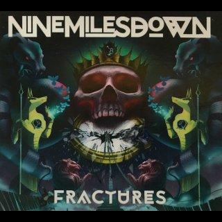 NINE MILES DOWN- Fractures LIM. 500 DIGIPACK