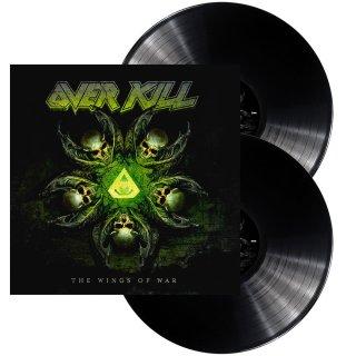OVERKILL- The Wings Of War BLACK VINYL 2LP set