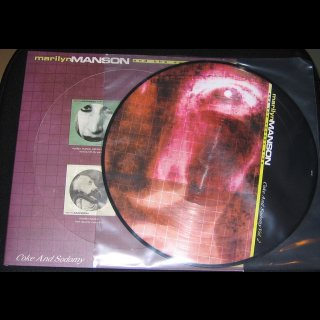 MARILYN MANSON AND THE SPOOKY KIDS- Coke And Sodomy Vol. 2 LIM. PICTURE LP Vinyl