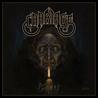 CARRIAGE- Visions LIM. 250 BLACK VINYL