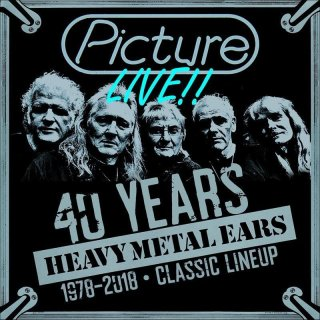PICTURE- Live-40 Years Heavy Metal Ears