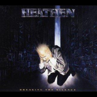 HEATHEN- Breaking The Silence CD +Demo bonus