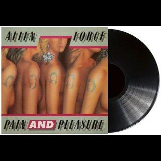 ALIEN FORCE- Pain And Pleasure LIM. BLACK VINYL