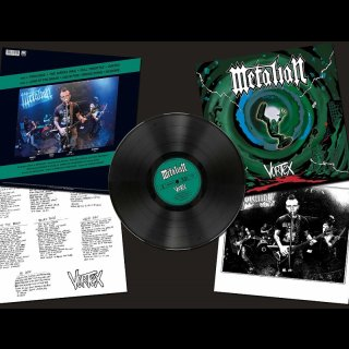 METALIAN- Vortex LIM. 150 LIM. BLACK VINYL