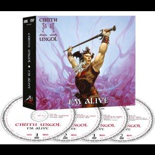 CIRITH UNGOL- I´m Alive LIM. DIGIPACK BOX 2CD+2DVD