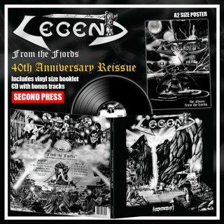 LEGEND- From The Fjords LIM. BLACK VINYL +CD +Poster