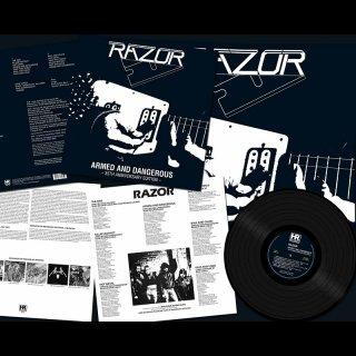 RAZOR- Armed And Dangerous LIM.BLACK VINYL +Bonus