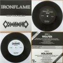 "IRONFLAME/COMANIAC split 7"" single LIM.+NUMB.200"