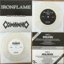 "IRONFLAME/COMANIAC split 7"" single LIM.+NUMB.200..."