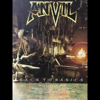 ANVIL- Back To Basics LIM.+NUMB.333 rare NOTVD