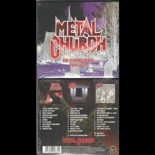 METAL CHURCH- The Elektra Years 1984-189 LIM. 3CD SET
