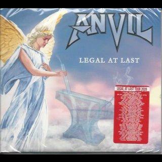 ANVIL- Legal At Last LIM.DIGIPACK +Bonustr.