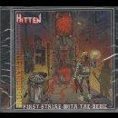 HITTEN- First Strike With The Devil CD +Sticker