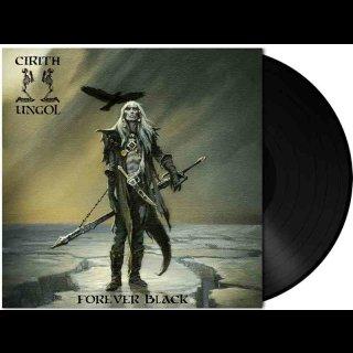 CIRITH UNGOL- Forever Black 180gr. HEAVY BLACK VINYL Gatefold +DL Card