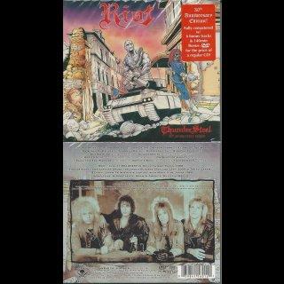 RIOT- Thundersteel CD+Bonus+DVD 30th Anniversary Edition