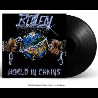 BLIZZEN- World In Chains LIM.300 BLACK VINYL