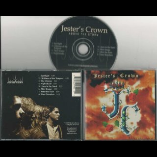 JESTER´S CROWN- Above The Storm RARE US PRIVATE PR.CD