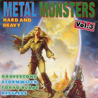 V.A., METAL MONSTER Hard And Heavy Vol. 3