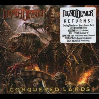 DEATH DEALER- Conquered Lands LIM. DIGIPACK