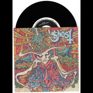 "GHOST- Kiss The Go-Goat/Mary On A Cross LIM. BLACK VINYL 7"" SINGLE"
