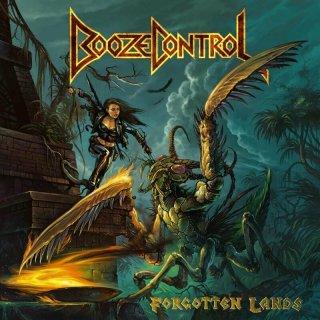 BOOZE CONTROL- Forgotten Lands LIM.BLACK VINYL +DL Code