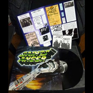 SAINTS ANGER- Danger Metal LIM. BLACK VINYL +3 unrel. Bonustracks