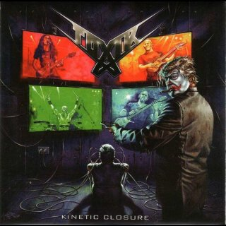 "TOXIK- Kinetic Closure LIM.500 SILVER 7"" Single"