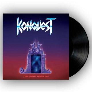 KONQUEST- The Night Goes On LIM. BLACK VINYL