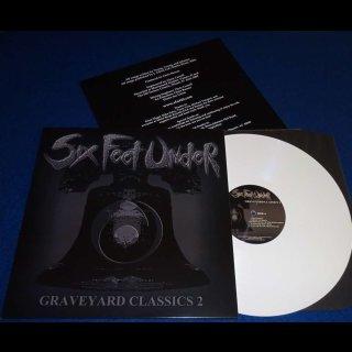 SIX FEET UNDER- Graveyard Classics 2 LIM.+NUMB.500 white vinyl