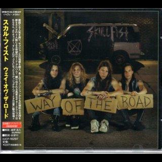 SKULL FIST- Way Of The Road LIM.JAPAN CD +2 Bonus