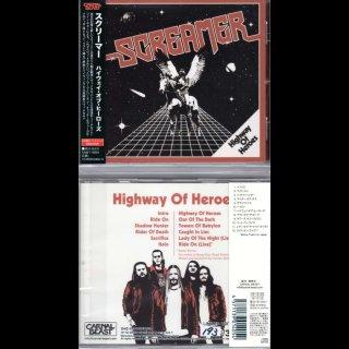 SCREAMER- Highway Of Heros LIM.+NUMB.300 JAPAN CD +2 Bonustr.