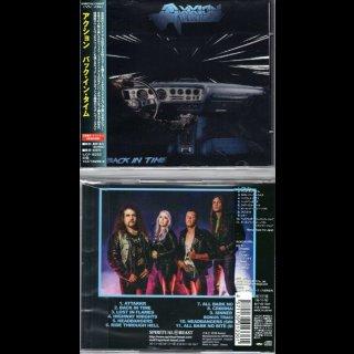 AXXION- Back In Time RARE JAPAN CD +2 Bonustracks