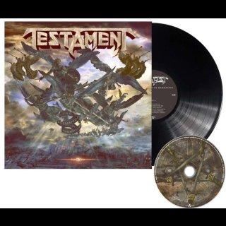 TESTAMENT- The Formation Of Damnation LIM.BLACK VINYL +CD
