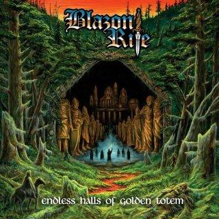BLAZON RITE- Endless Halls Of Golden Totem LIM. BLACK VINYL +DL Code