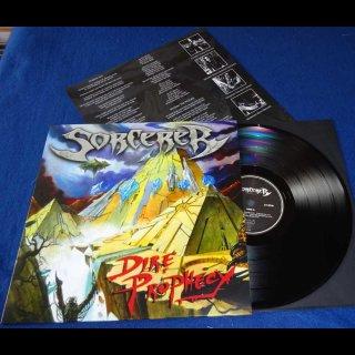 SORCERER- Dire Prophecy LIM.200 BLACK VINYL