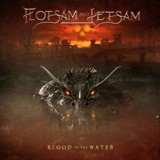 FLOTSAM AND JETSAM- Blood In The Water LIM. DIGIPACK